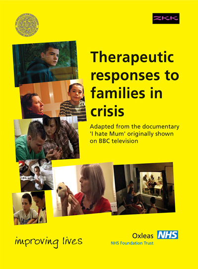 DVD cover: Therapeutic responses to families in crisis