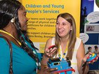 Members at AMM on the children's services stall