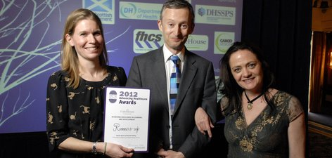 Advancing healthcare awards 2012 - music therapy service