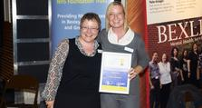 Staff Recognition Awards 2010: Excellence runner up- Alison Symonds