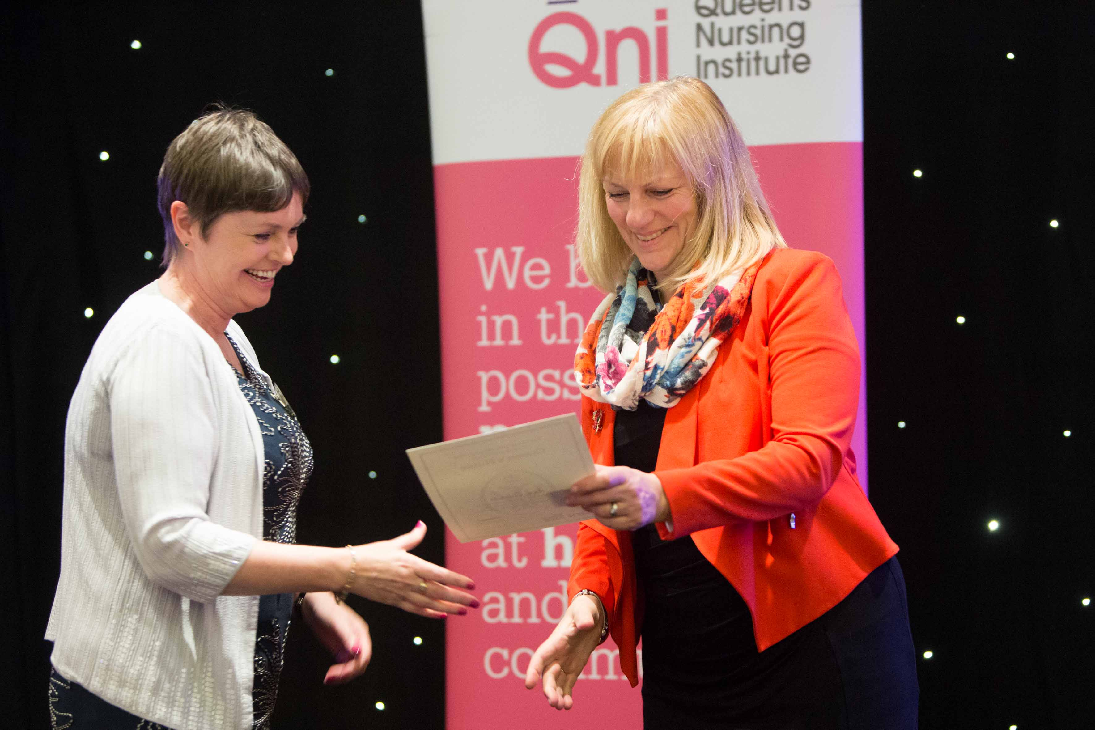 News: Triple celebration for Oxleas' new Queen's nurses 1