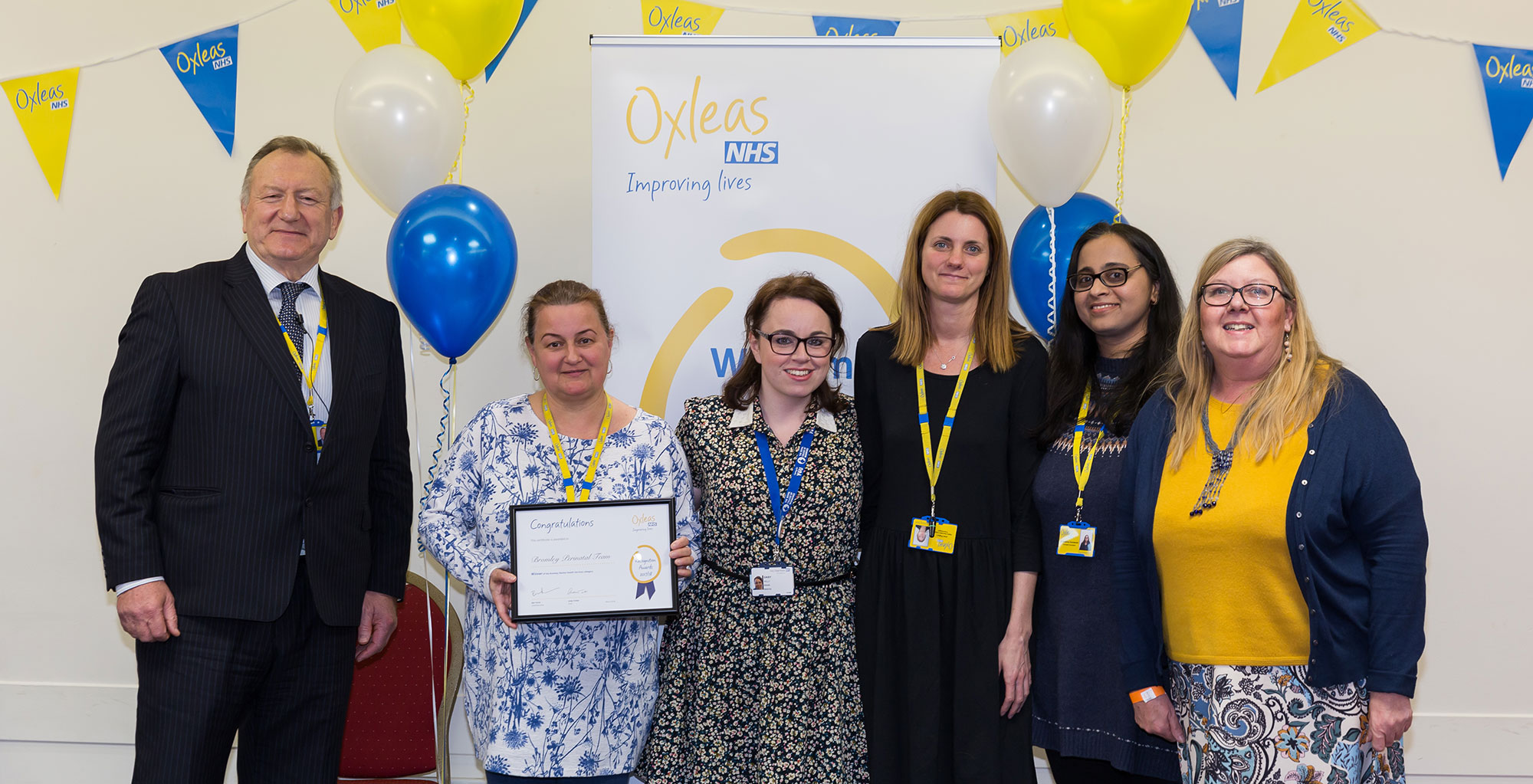Bromley Perinatal Team - 2018 Recognition Awards