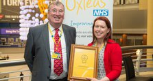 Staff Recognition Awards 2015: Winner - Leading and inspiring: Catherine Edmeades, Podiatry Clinical Lead