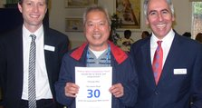 30 Years Service Bromley - Chiang Hoo