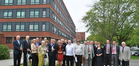 Governors, non executive directors and staff at Queen Mary's Hospital
