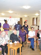 Staff and patients discuss dignity in care