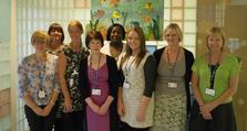 Caroline Chummin and the Bexley Children's Community Nursing Team