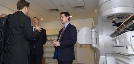 Hospital Watch launch - hospital visitors are eyes and ears - Guy's Cancer Centre at QMH