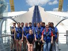 news: O2 Stephen Firn climb with service users