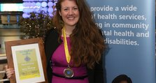 Staff Recognition Awards 2012: Partnership Gold: Emma Winthrop, Crofton Clinic, Bracton Centre