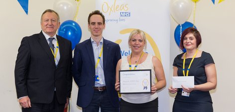 Greenwich ADHD Team - 2018 Recognition Awards