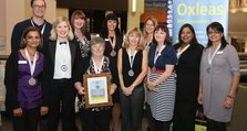 Staff Recognition Awards 2012: Safety Silver: Greenwich Falls Prevention Team
