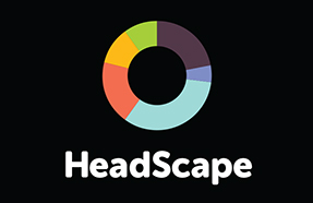 HeadScape logo for front page block