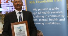 Staff Recognition Awards 2012: Being responsive Silver: Sarah Littlejohn and Joe Torap, Bexley Recovery Team