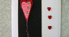 KS Valentine handmade greetings card - Koestler Platinum Award