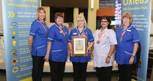 Staff Recognition Awards 2012: Being responsive Bronze: Lyndhurst District Nursing Team