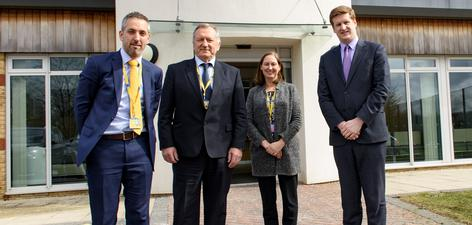 Kent Police and Crime Commissioner visit March 2018