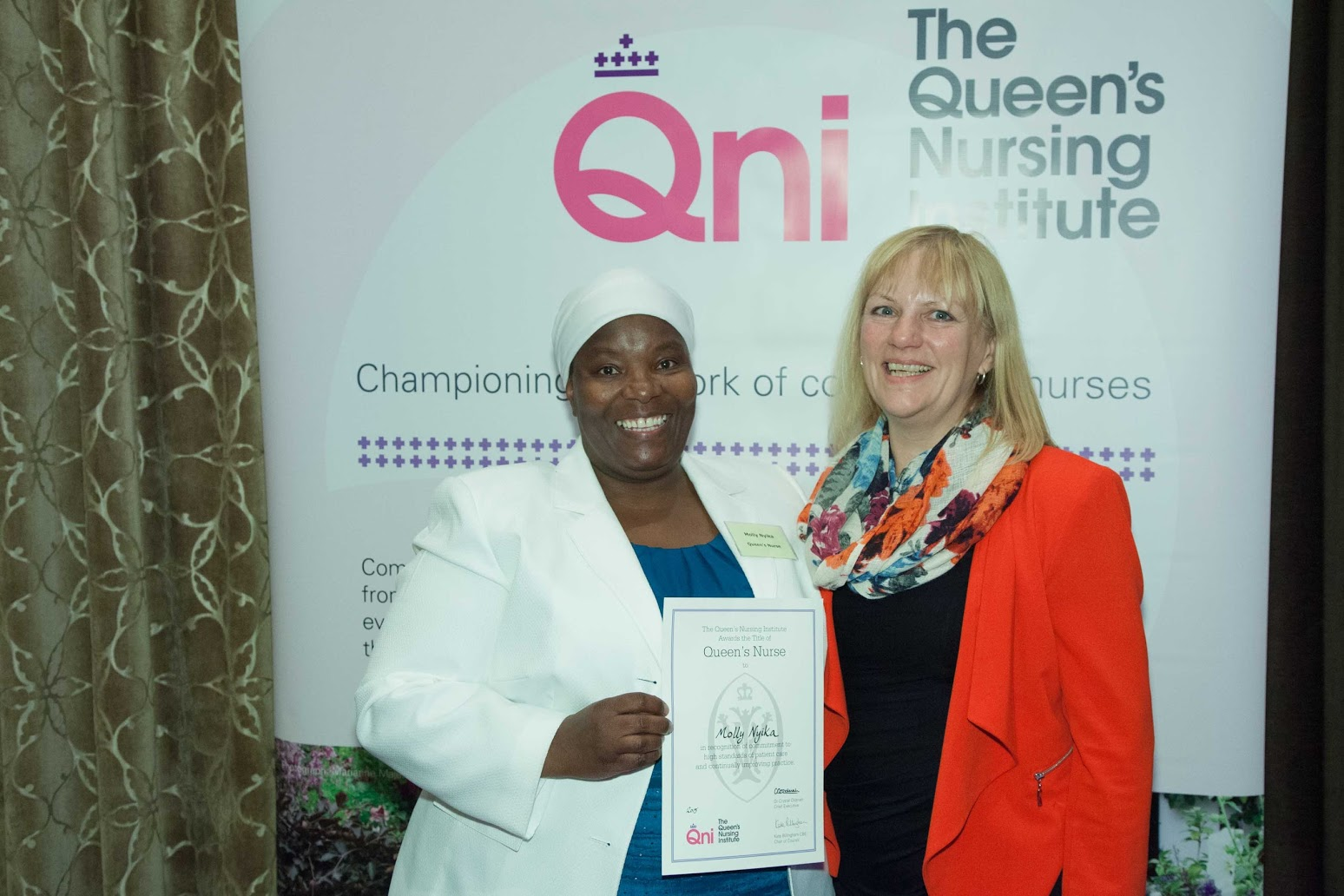 News: Triple celebration for Oxleas' new Queen's nurses 4