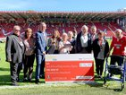 Oxleas cheque presentation at Charlton Athletic FC - 14 09 19