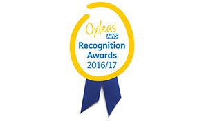 Oxleas NHS Recognition Awards 2016/17