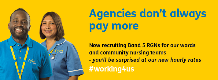 Oxleas Band 5 Nurses Recruitment