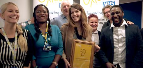 Staff Recognition Awards 2015: Winner - Partnership: The Pathways Team, HMP Swaleside