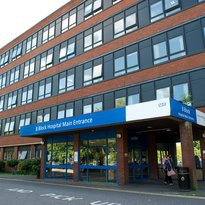 Queen Mary's Hospital - outside B block