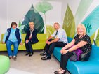 Andy Trotter, Chair of Oxleas NHS Foundation Trust & Bexley councillors visit Acorns at Queen Mary's Hospital