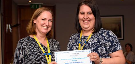 Rebecca Barter - Oxleas Healthcare Support Worker of the Year 2018