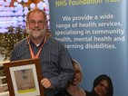 Staff Recognition Awards 2012: Having a user focus – care and compassion Bronze: Stuart Weir, Greenwich Wheelchair Service