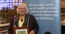 Staff Recognition Awards 2012: Excellence Gold: Sue White, Greenwich Memory Service