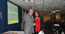 2011 - Oxleas Support Workers Conference - 1. Winner of the nursing excellence award at the inaugural Health Support Worker Awards, Sara Veeramah