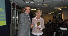 2011 - Oxleas Support Workers Conference - 3. Safety award winner Noelle Weekes receives her award