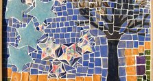 The road through the woods at night - Bracton Centre Mosaic Project - Koestler Commended Award