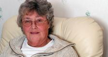 Long term conditions: COPD lady in chair
