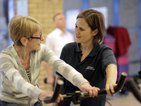 A COPD class at the Waterfront Leisure Centre