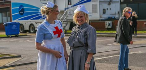 News: Nurses in costume