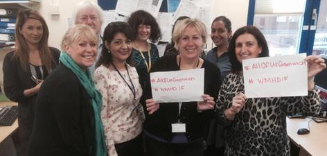 The Greenwich Time to Talk Team #AllofUsGreenwich