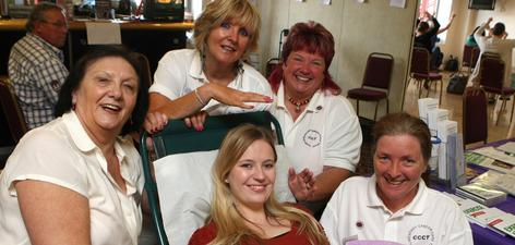 News item: Members of the Complementary Cancer Care Trust at the 2011 health festival